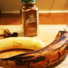 Virtual Vegan Potluck: Cinnamon Plantains